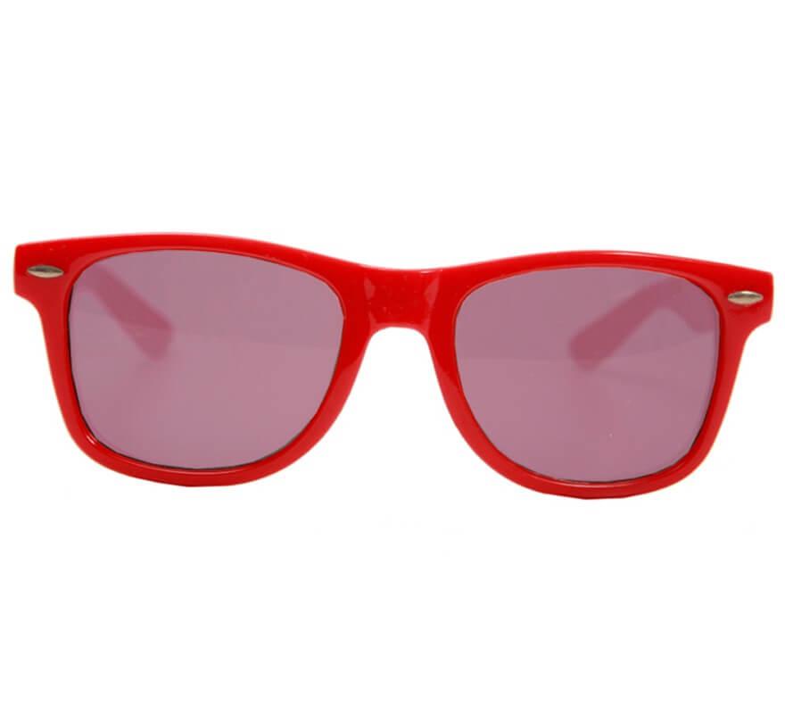 mejor sitio web a8298 413b6 Gafas estilo Años 80 con cristales negros, 2 colores surtidos