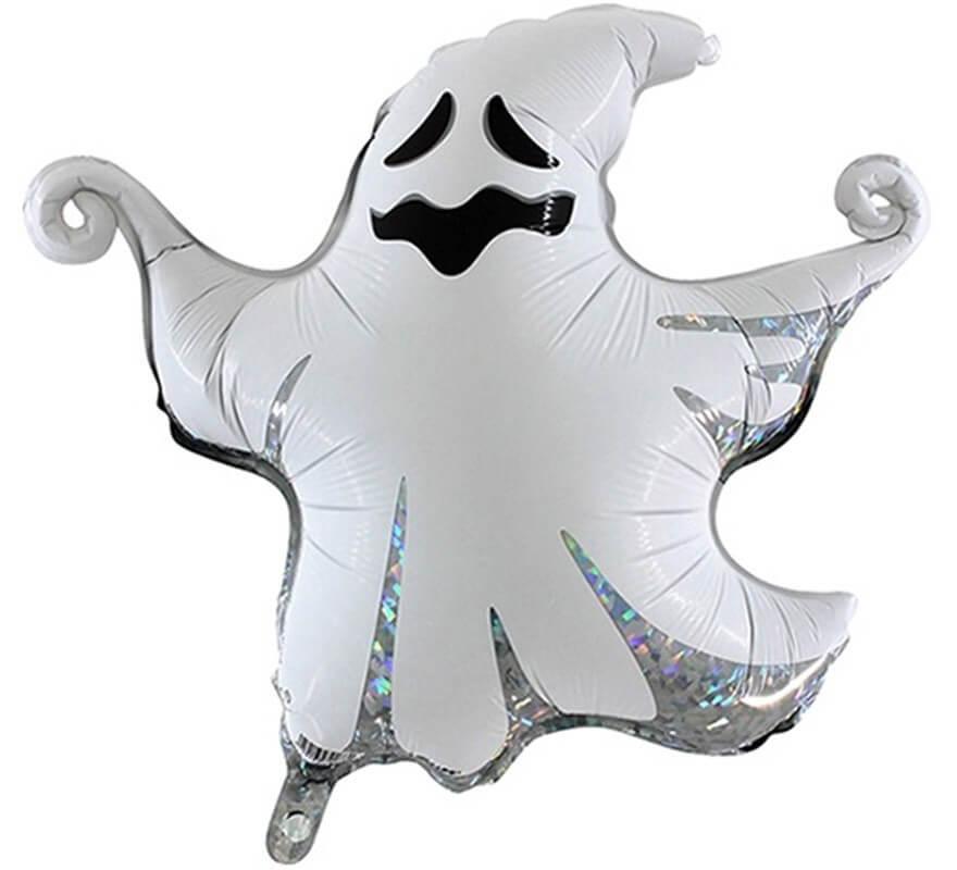 Globo Foil Metalizado de Fantasma de 43 cm