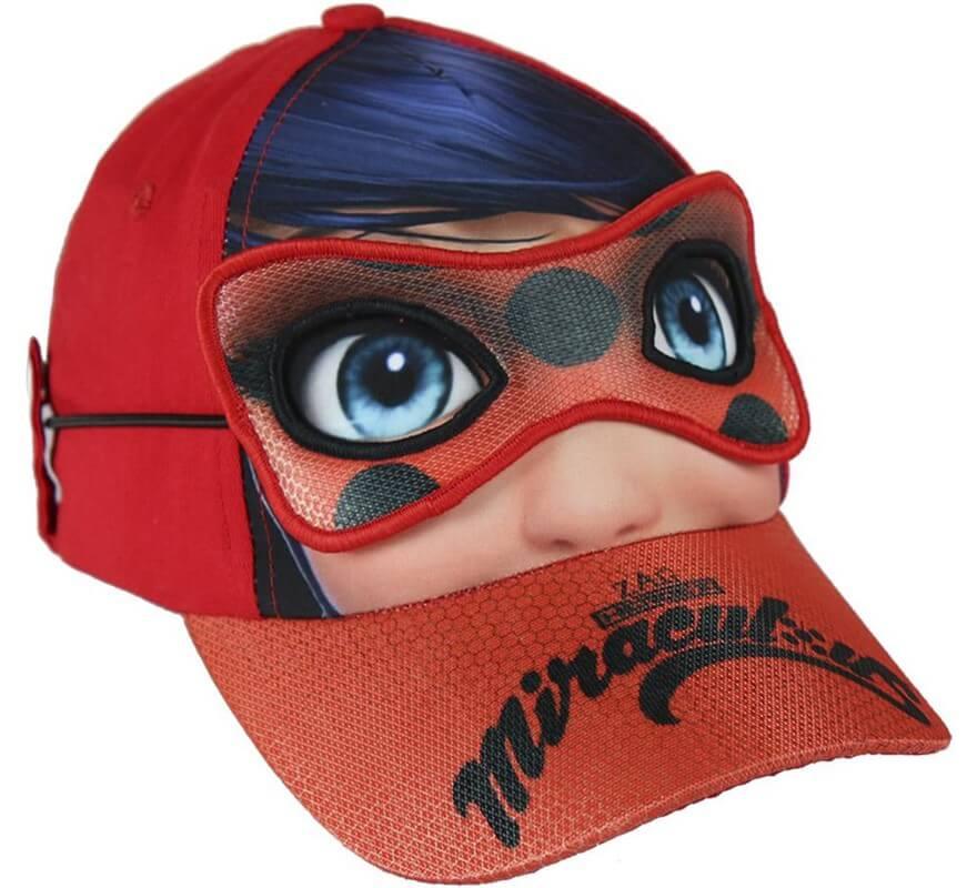 9385e8f3e2 Casquette avec Mi Masque de Miraculous Ladybug 55 cm