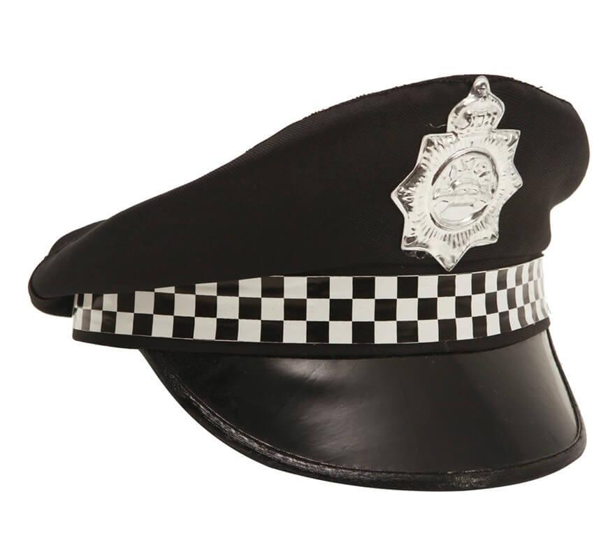 addf25afda7ec Gorra de Policía Patrullero con Insignia