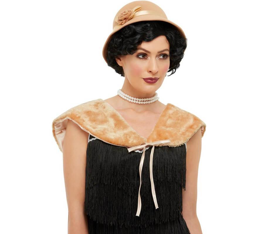 buena venta elige lo último varios diseños Kit de Años 20 Crema: Sombrero y Estola
