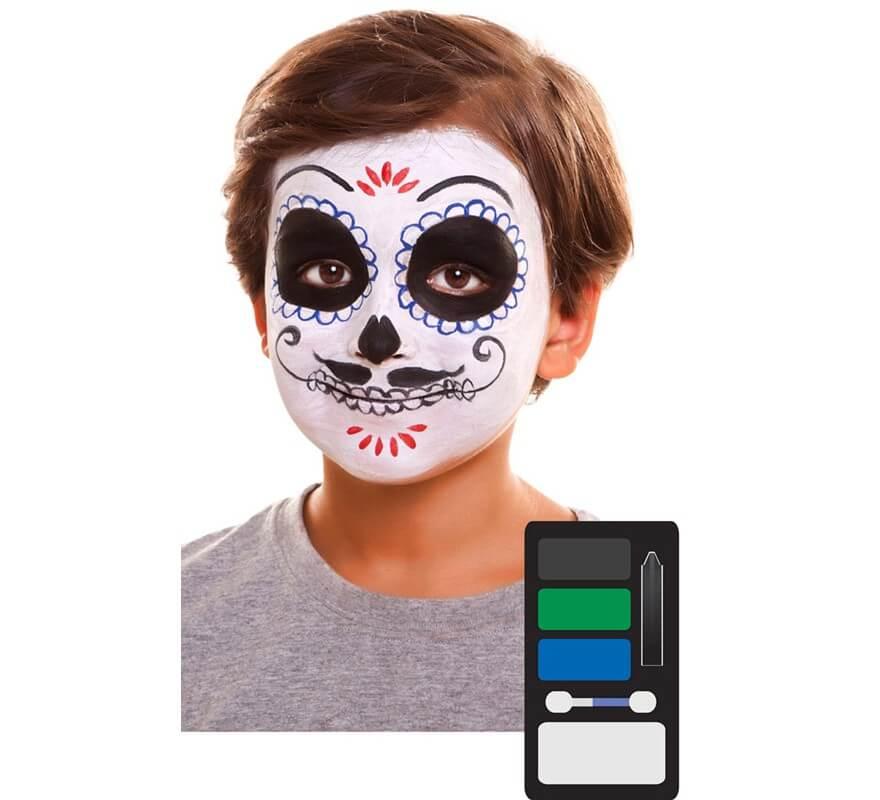 Kit de maquillaje de se or de d a de los muertos - Maquillage dia de los muertos ...