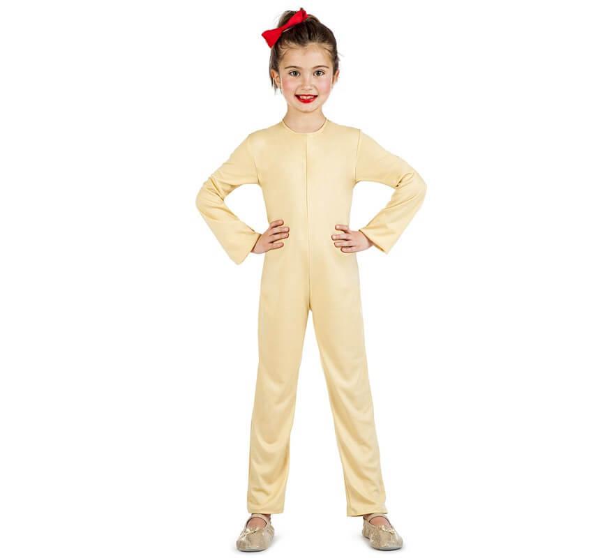 Maillot o Mono Color Carne para niños