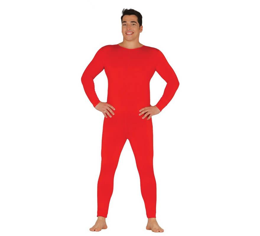 justaucorps ou combinaison une pi ce rouge pour homme taille unique. Black Bedroom Furniture Sets. Home Design Ideas