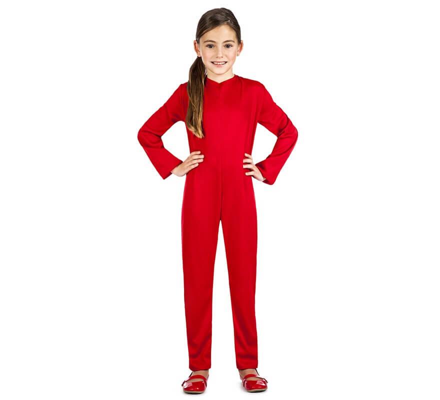 Maillot o Mono de punto Rojo para niños