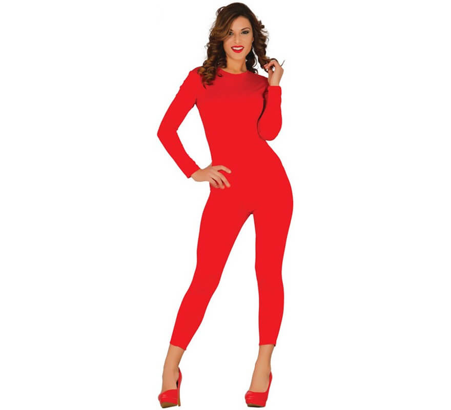 Mono Color Rojo Spandex M-L 5TCX8ffauA