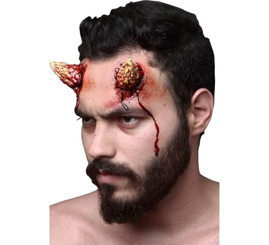 maquillaje fxs cuernos pequeos de demonio de ltex - Maquillaje Demonio