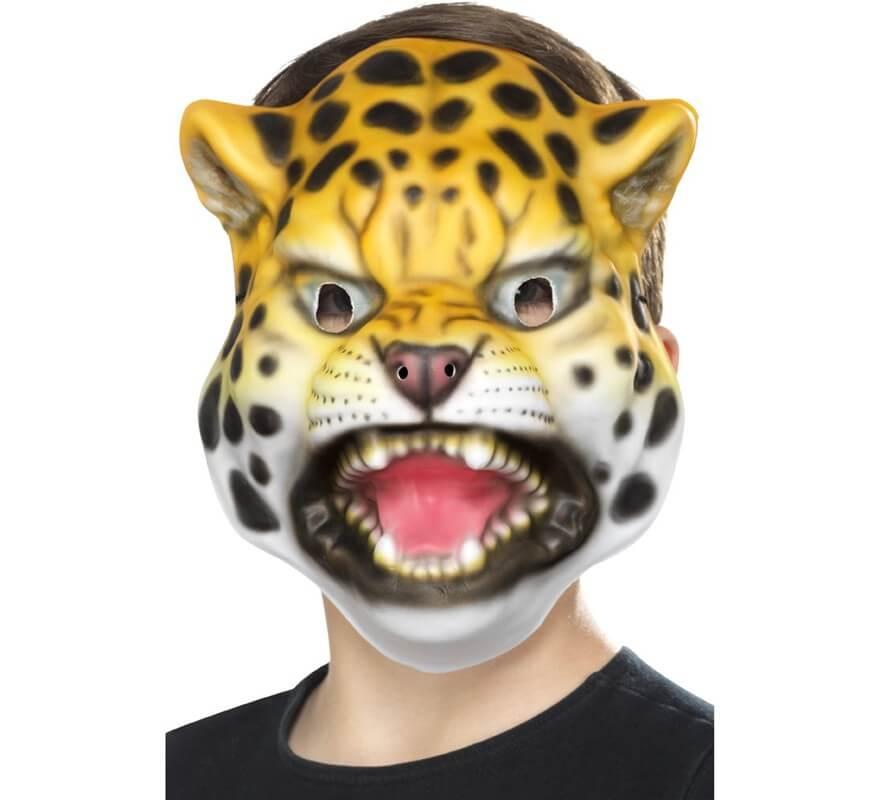 Máscara de Leopardo para niños