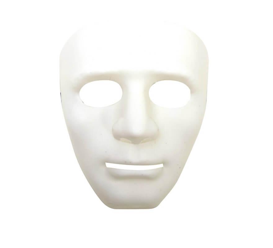 Mscara de Teatro blanca
