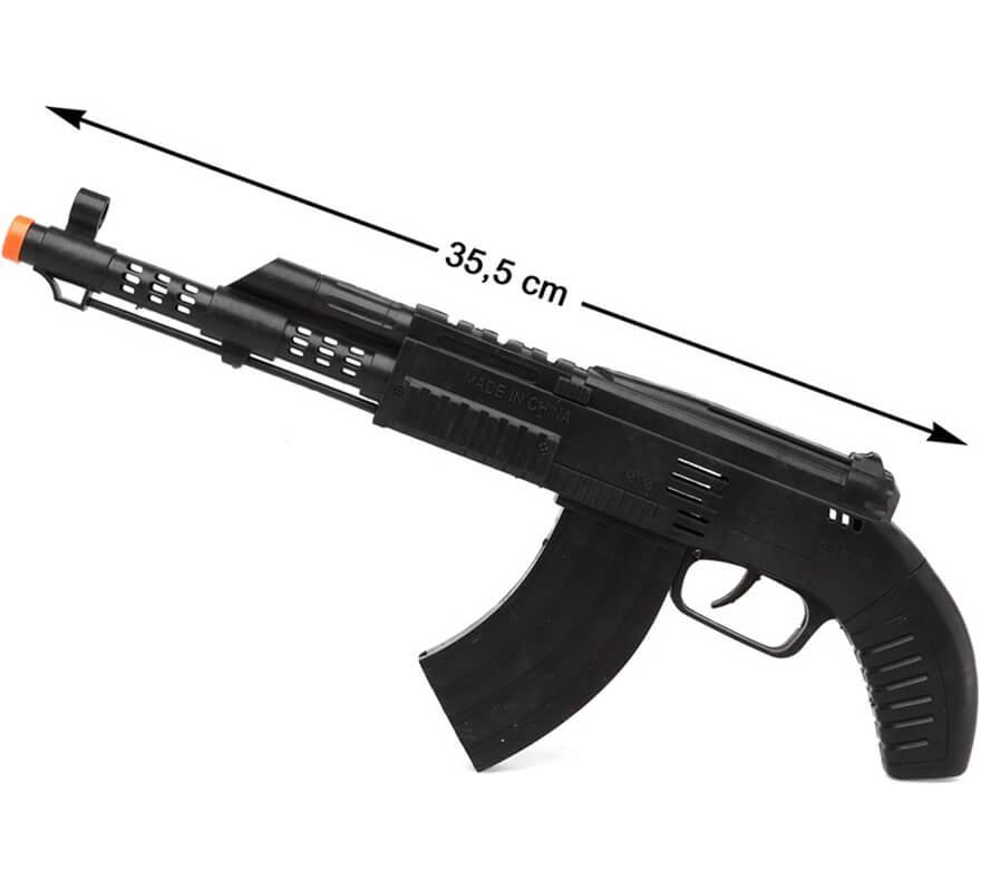 Metralleta Militar Negra 35 cm