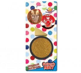Maquillaje con Esponja color Oro