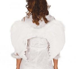 Alas de Ángel blancas de plumas de 60 cm