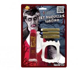 Blister de Maquillaje de Vampiro