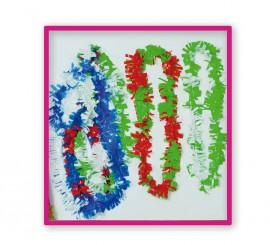 Bolsa de 25 Collares Hawai de Plástico