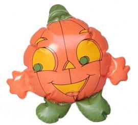 Calabaza hinchable 22 cm. para Halloween