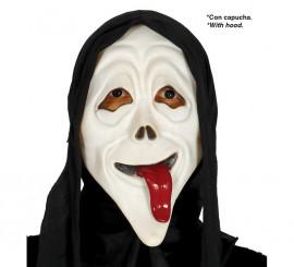 Careta de Asesino con lengua y capucha