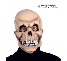 Careta de Esqueleto con movimiento
