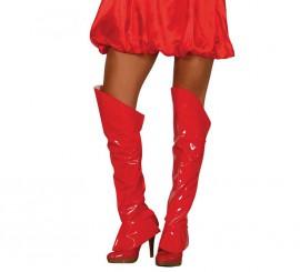 Cubrebotas rojas de 60 cm