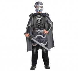 Disfraz Caballero sombrío para niños y adolescentes varias tallas con acc.