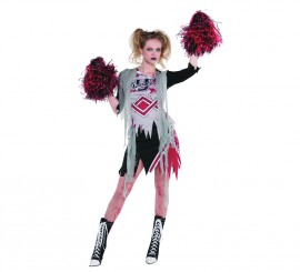 Disfraz de Animadora zombie para mujer para Halloween