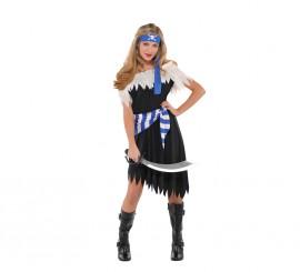 Disfraz de belleza pirata para niñas adolescentes