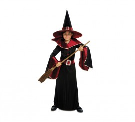 Disfraz de Bruja Granate para niñas para Halloween