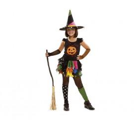 Disfraz de Brujita Calabaza para niñas para Halloween