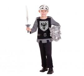 Disfraz de caballero medieval para niños de 3 a 6 años