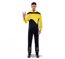 Disfraz de Capitán galáctico para hombre