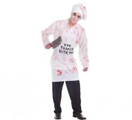 Disfraz de Carnicero Sangriento para hombre