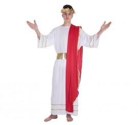 Disfraz de César romano Luxus para hombre