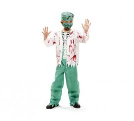 Disfraz de Cirujano Esqueleto para niños para Halloween