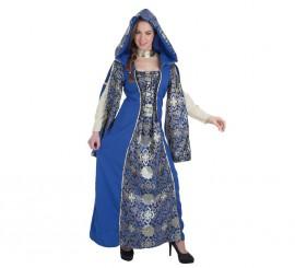 Disfraz de Condesa Castilgrande medieval para mujer