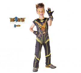 Disfraz de Zak de Desafío Champions Sendokai para niño