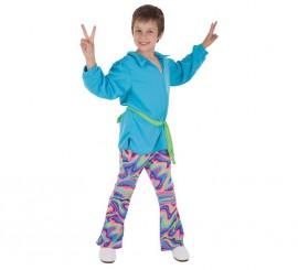 Disfraz de Disco guateque para niño