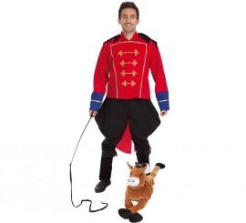 Disfraz de Domador de Circo CON peluche para hombre