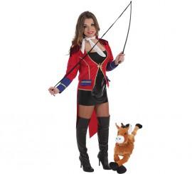 Disfraz de Domadora de Circo CON peluche para mujer