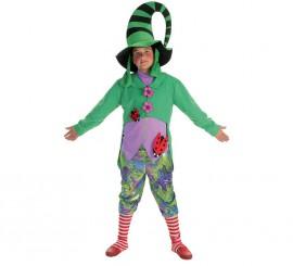 Disfraz de Duendecillo verde para niño