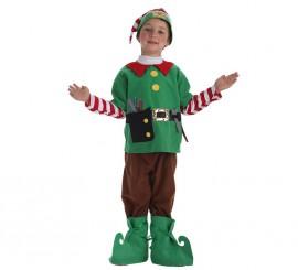 Disfraz de Elfo ayudante de Santa para niño