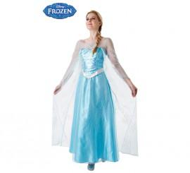 Disfraz de Elsa de Frozen para Mujer