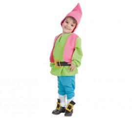 Disfraz de Enanito verde para bebé