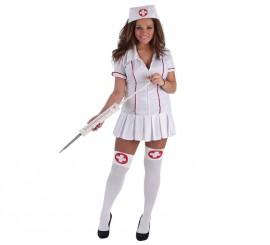 Disfraz de Enfermera divertida para mujer