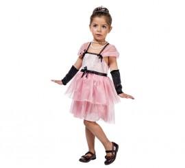 Disfraz de Estrella de cine de Holly rosa para niña