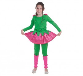 Disfraz de Florecilla para niña