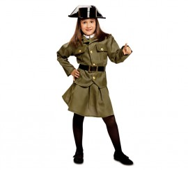 Disfraz de Guardia Civil para niña