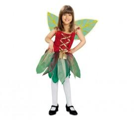 Disfraz de Hada del Bosque para niña