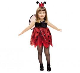 Disfraz de Hada Mariquita para niña