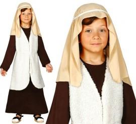 Disfraz de Hebreo marrón para niño