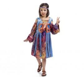 Disfraz de Hippie Luna para niña