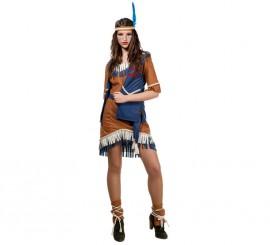 Disfraz de India Sioux para mujer